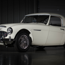 Countdown to Barrett-Jackson Las Vegas 2016: 1958 Austin-Healey 100-6 BM4 roadster
