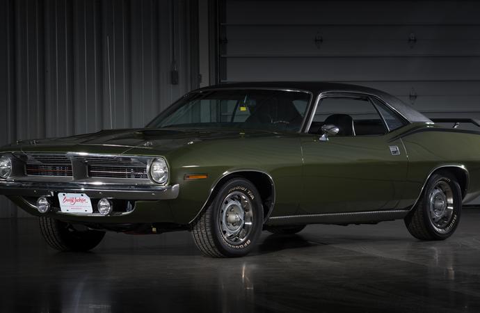Countdown to Barrett-Jackson Las Vegas 2016: 1970 Plymouth 'Cuda