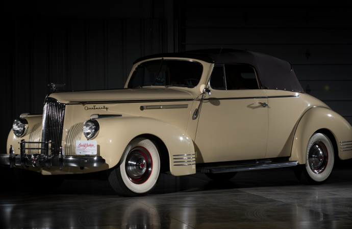 Countdown to Barrett-Jackson Las Vegas 2016: 1941 Packard 120 convertible