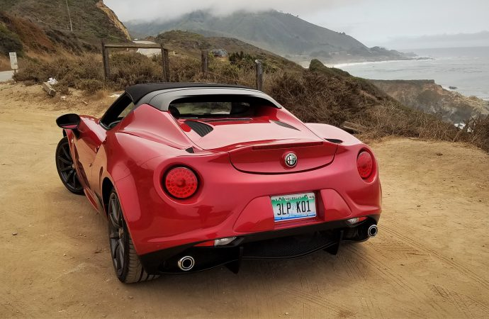 Driven: 2016 Alfa Romeo 4C Spider