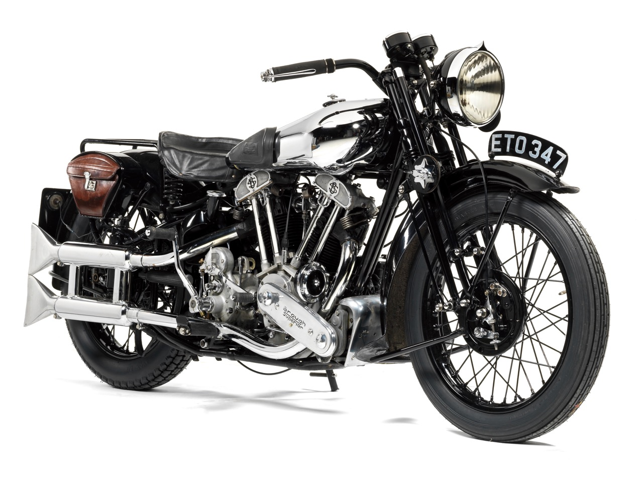 1939 Brough Superior 982cc SS100 sells for $177,523