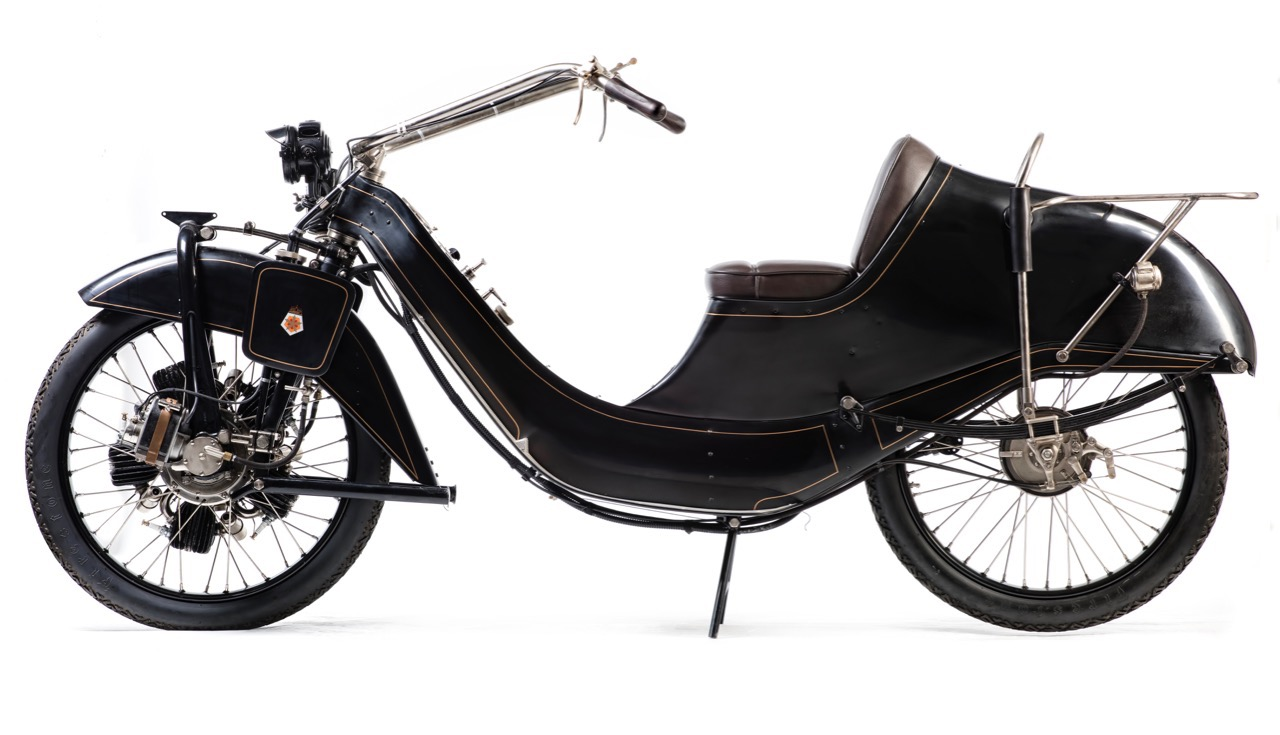 1921 Megola motorcycle sell for $106,556