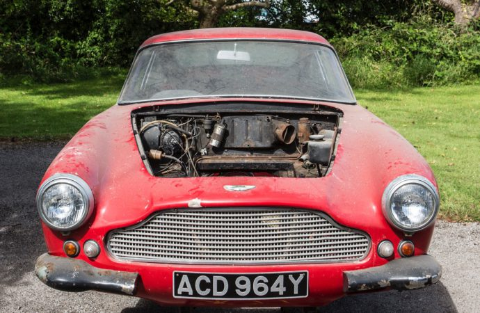 DB4 Series 1 (or parts of one) tops Bonhams' Beaulieu auction