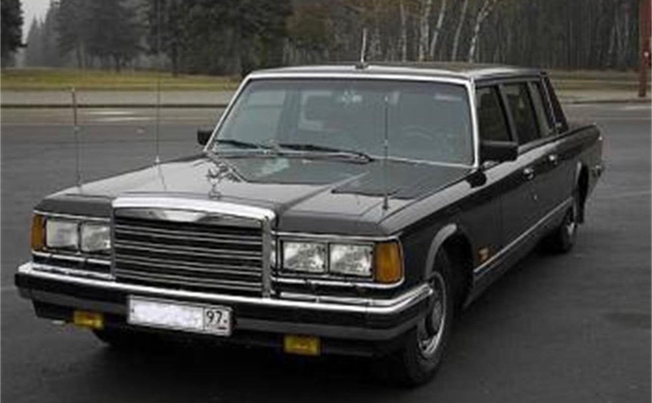 1989 AMO Zil 41502 armored limousine - ClicCars.com Journal