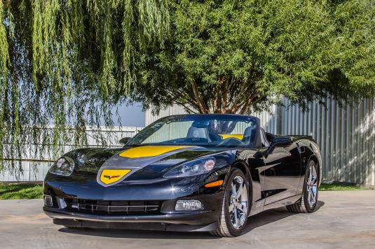 2009 Chevrolet Corvette GT1 4LT Convertible, Lot# 107