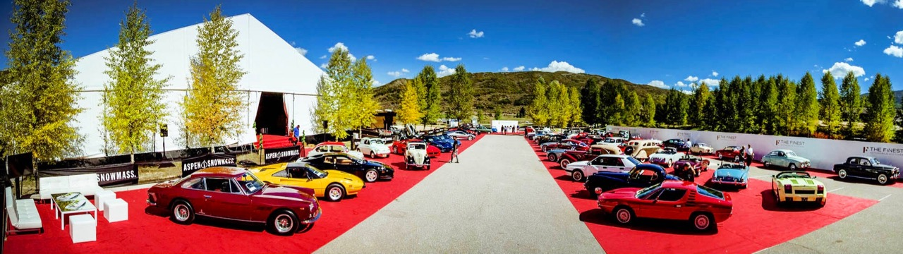The auction venue for The Finest sale last year in Aspen | The Finest auction photo