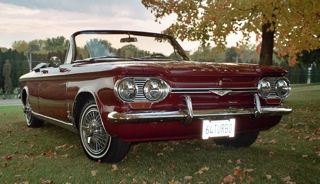 My Classic Car: Duke\'s 1964 Chevrolet Corvair Spyder - ClassicCars ...