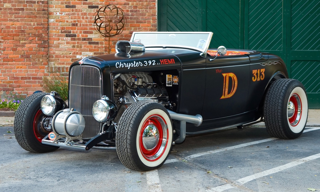 Hot-rod renaissance: The D-Rod is a modern interpretation of a '32 Ford classic | Leake Auction photos