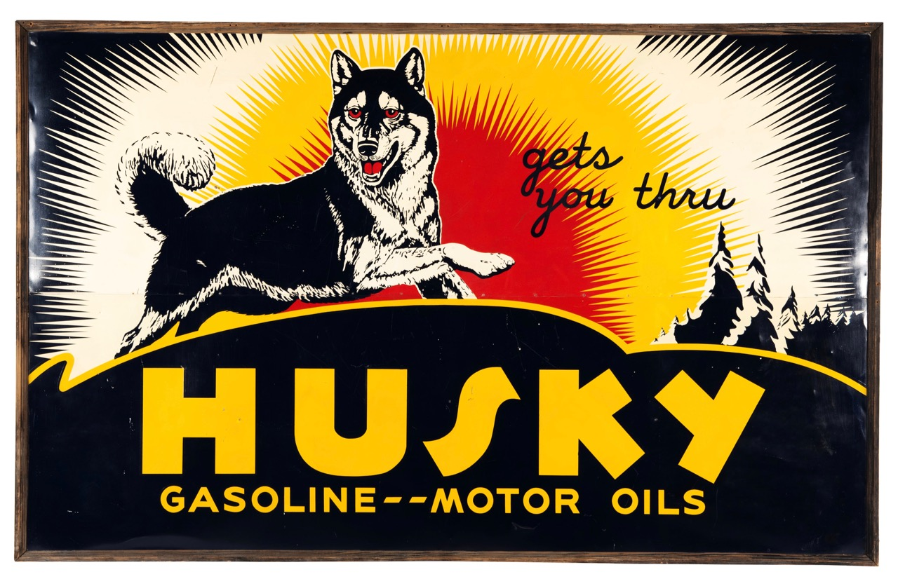 Husky gasoline sign among 1,200 items collected over 30-year period | Mecum Auctions photos