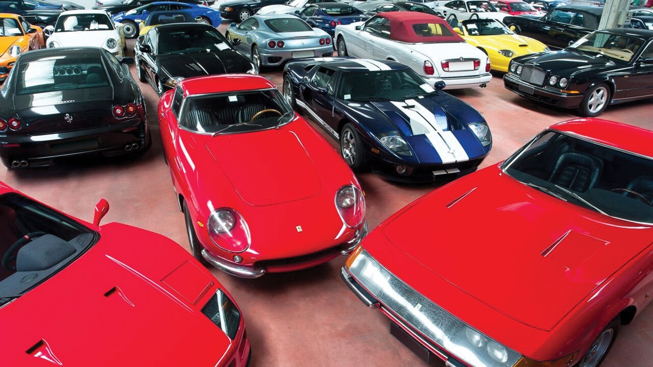 Some of the more than 430 cars to be offered at no reserve at the Duemila Ruote auction | RM Sotheby's photos