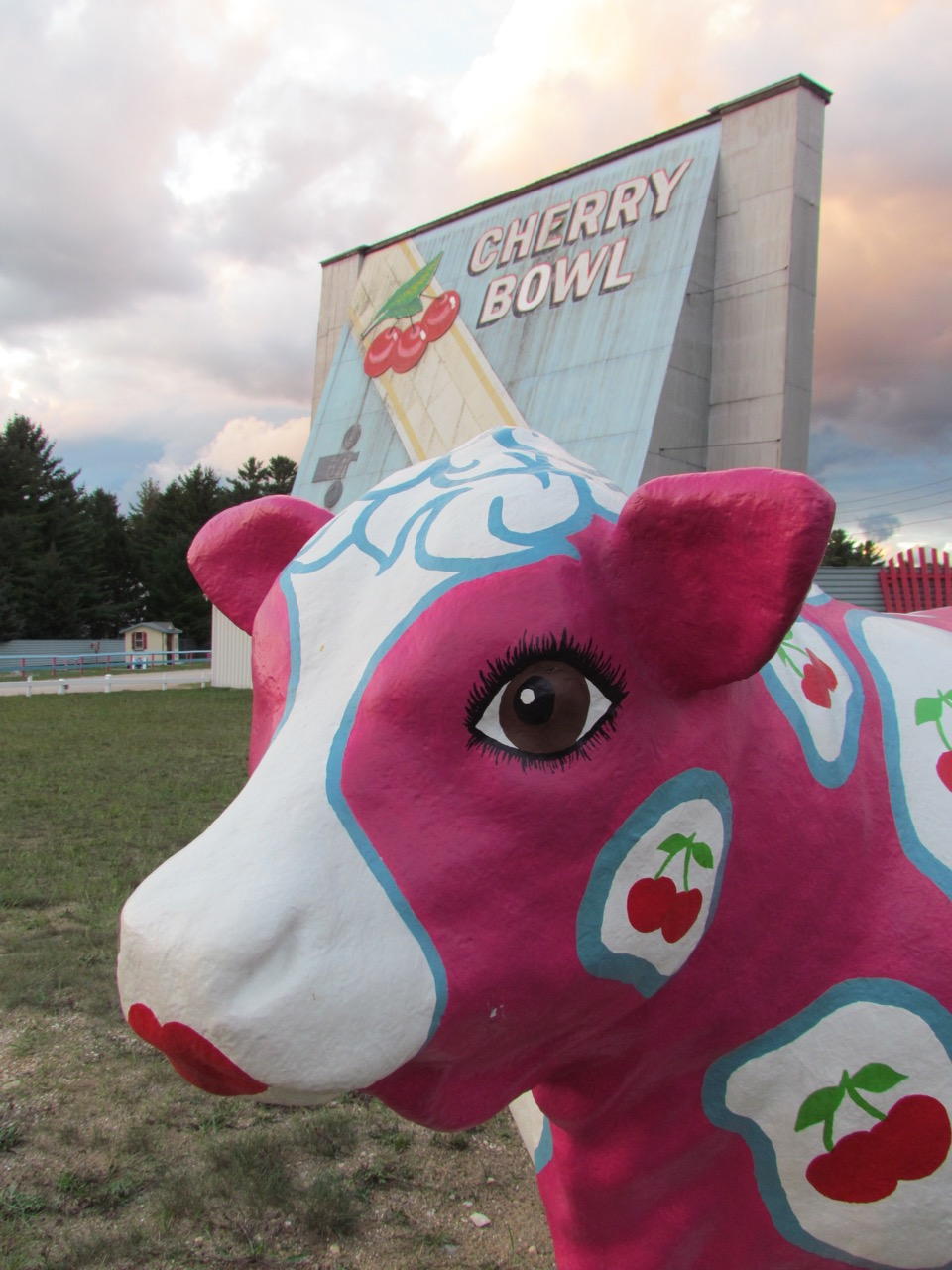Drive-in movie mascot