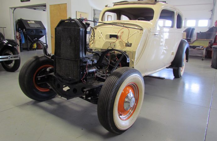 Students will go from Gilmore museum garage to The Great Race