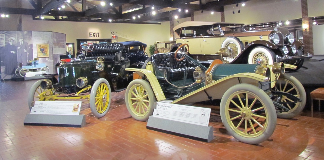 Cars owned by museum founder Donald Gilmore fill the main gallery for 50th anniversary | Larry Edsall photos