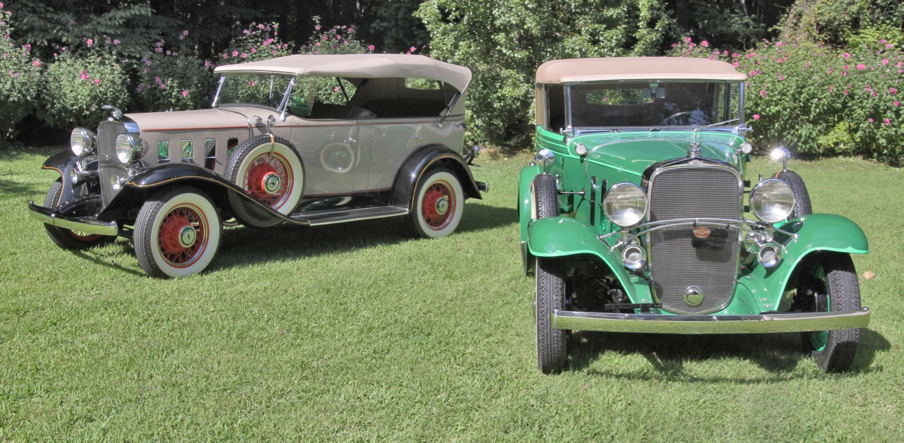 Pair of '32s: Phaeton and Landau