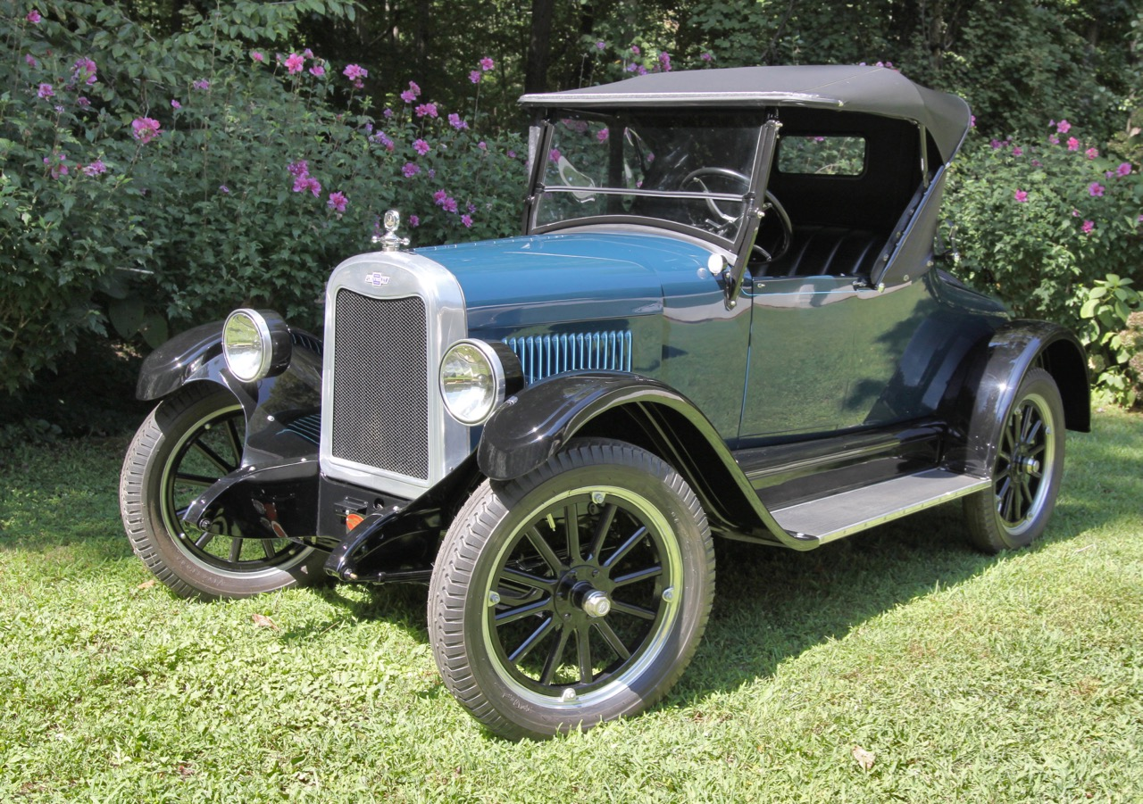 The Colliers' 1925 Chevrolet coupe will be at the concours, too