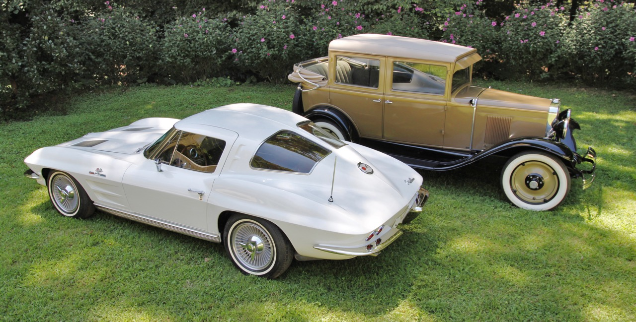 A split-window 1963 Corvette and 1932 Chevrolet roadster from the Collier Collection will be featured at the Atlanta Concours d'Elegance