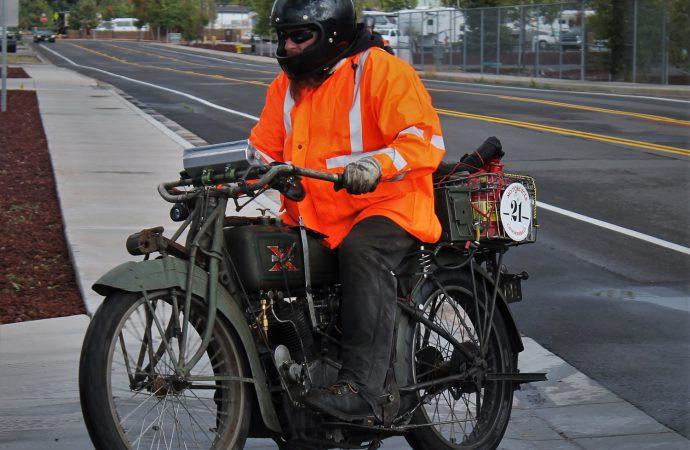 Motorcycle Cannonball celebrates record ride centennial