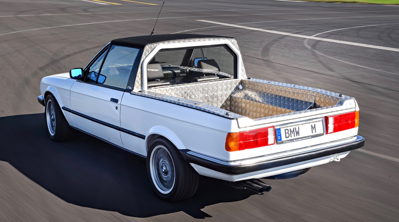 The M3 Pickup served as parts hauler for more than two decades