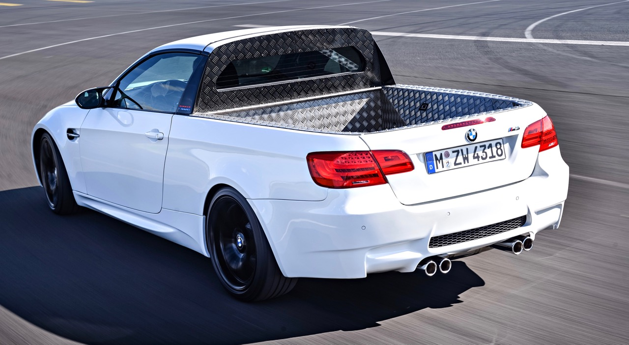 The second BMW M3 Pickup concept has more finished appearance