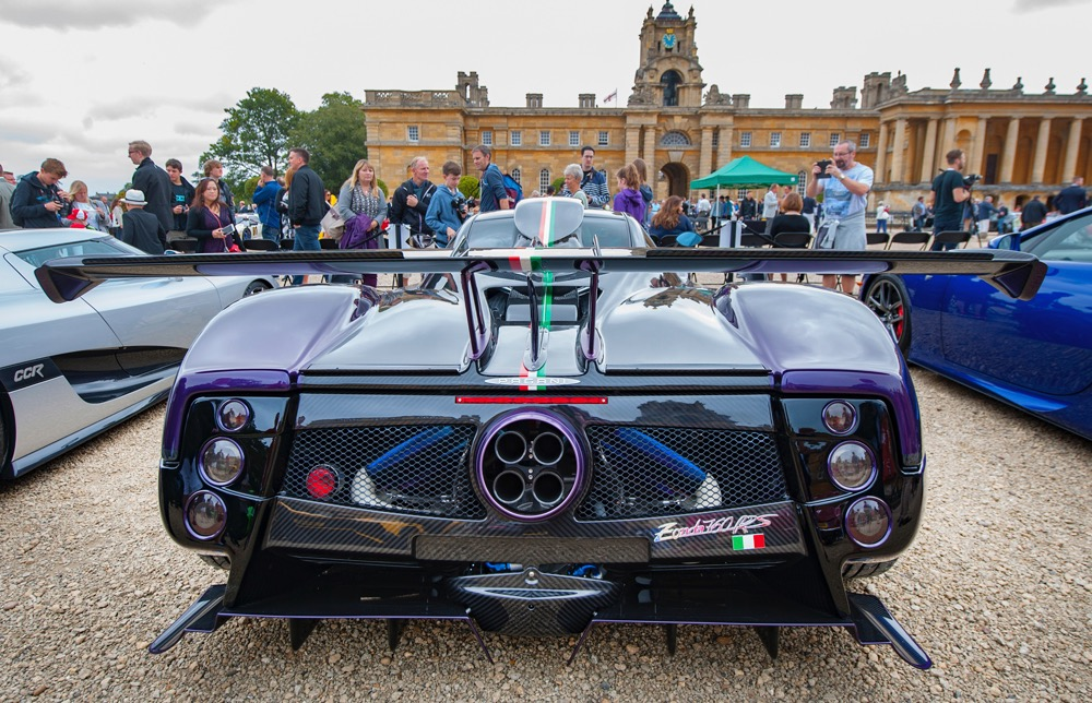 Pagani Zonda 760 RS takes title in supercar competition