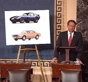 Senate bill would endorse National Historic Vehicle Register