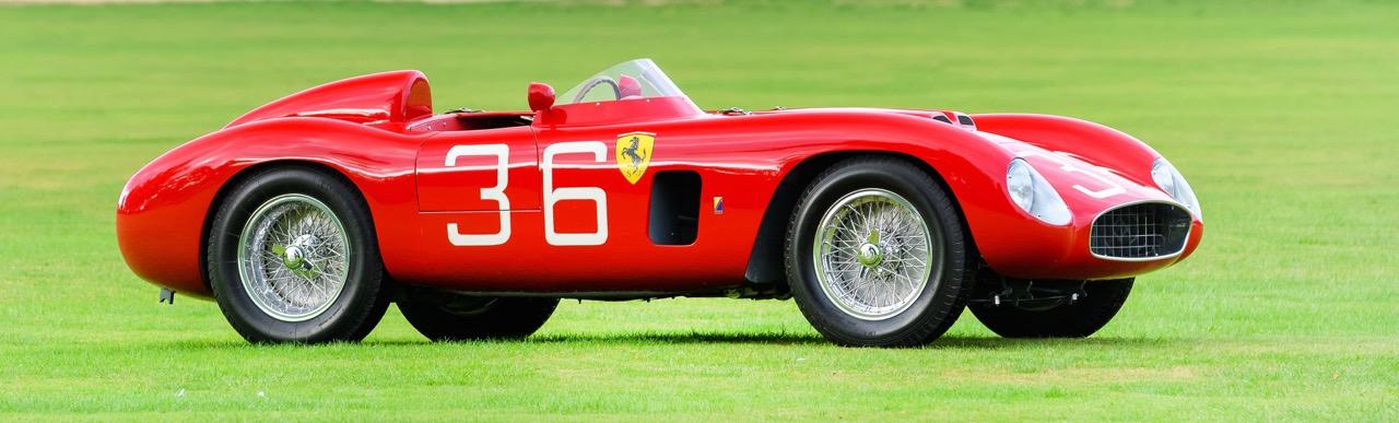 This 1956 Ferrari 500 Testa Rossa spent decades in a barn in Iowa |Salon Prive photos