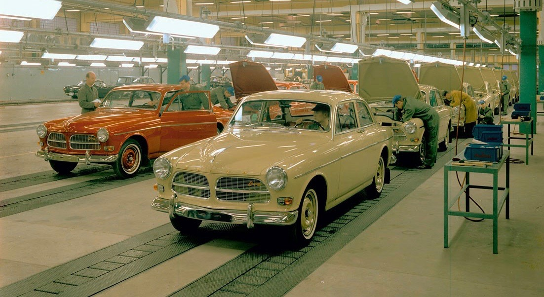 Amazons roll off the Volvo assembly line