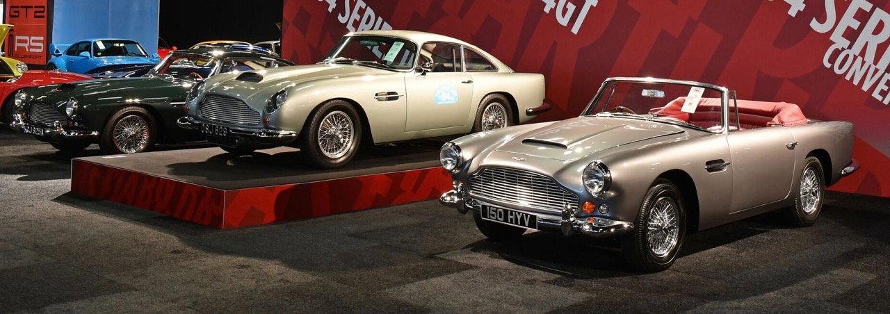 A trio of Aston Martins, with DB4GT in the middle | RM Sotheby's photos by Tim Scott