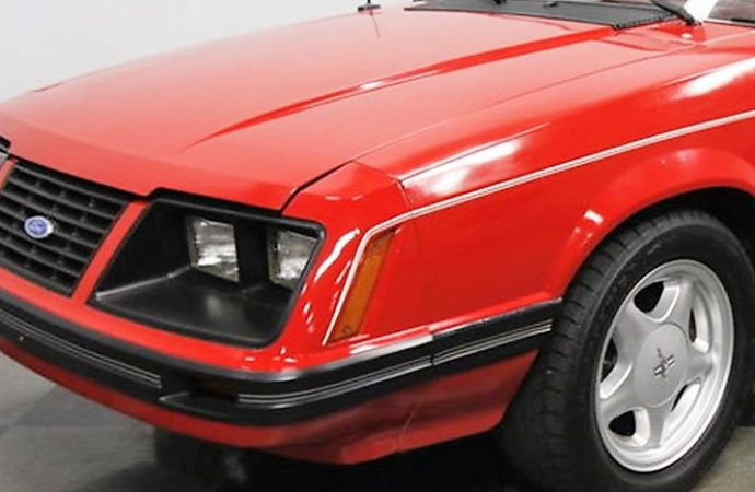 1983 Ford Mustang convertible