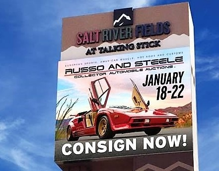 Russo and Steele switching locations for Scottsdale auction