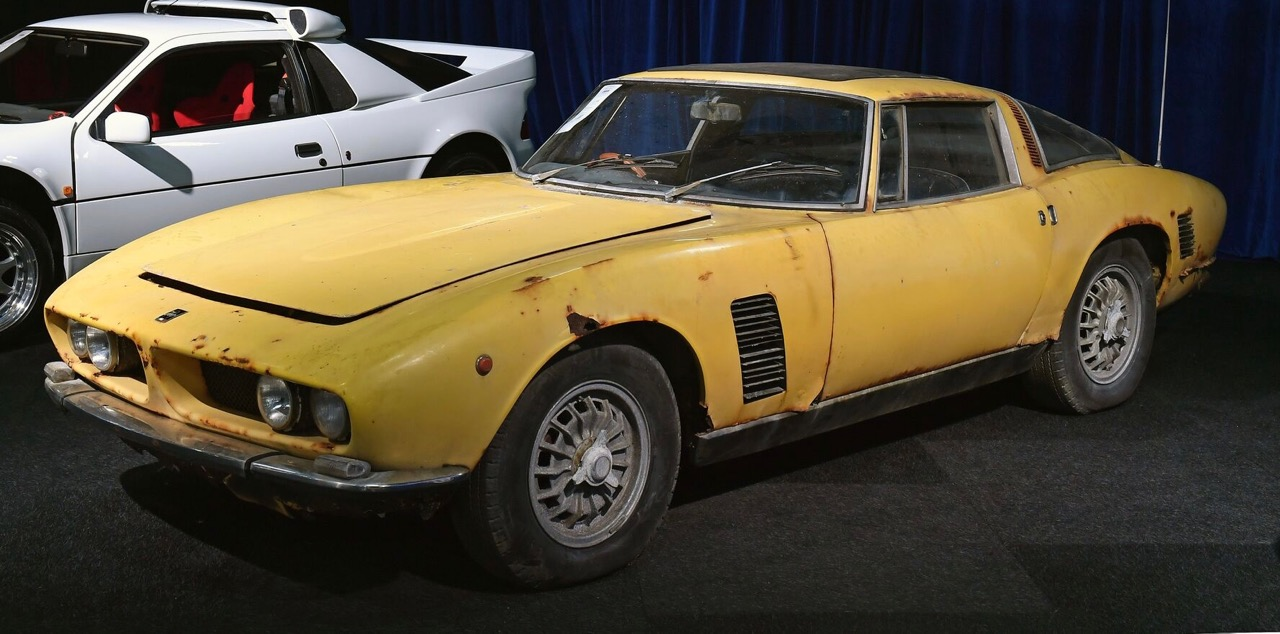 Barn-found Iso Grifo triples pre-sale estimate