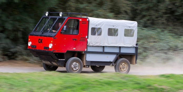 OX is designed by Gordon Murray for supply deliveries in the developing world | Global Vehicle Trust photos