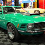 A 1970 Ford Mustang Boss 429 after selling for $255,000 | Mecum Auctions photos