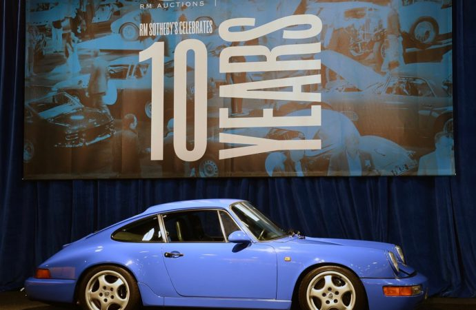 Porsche prices make news at RM Sotheby's London auction