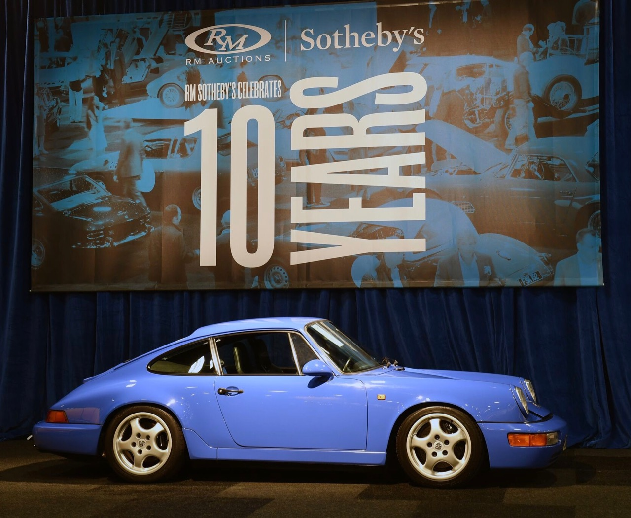 Low-mileage Porsches from a single collection sell very well