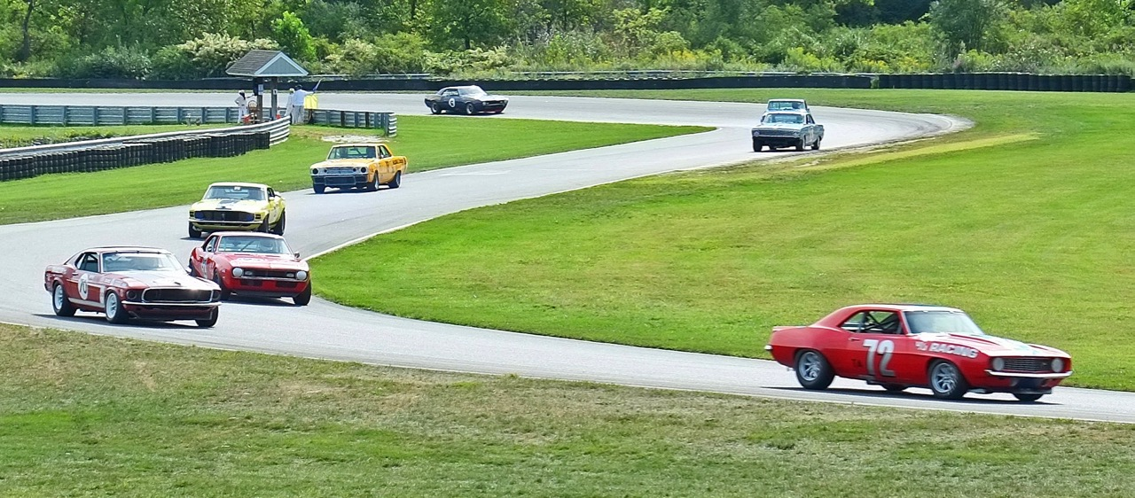 Vintage Trans-Am cars race around Lime Rock Park during historic festival | Andy Reid photos