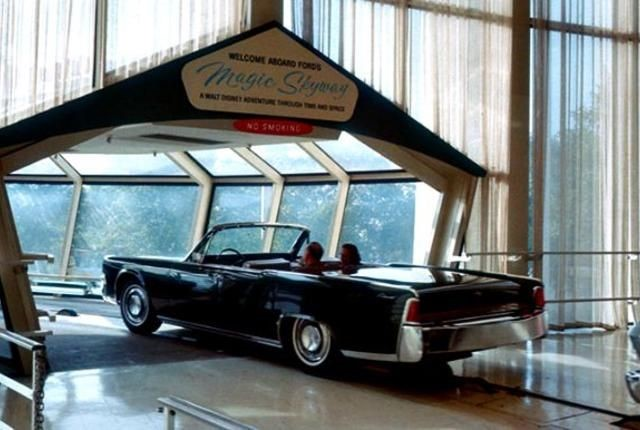 NY World's Fair Thunderbird takes Magic Skyway ride to Hershey