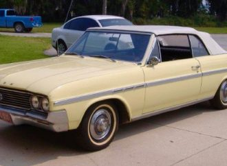 My Classic Car: Derek and Dad's 1964 Buick Skylark convertible