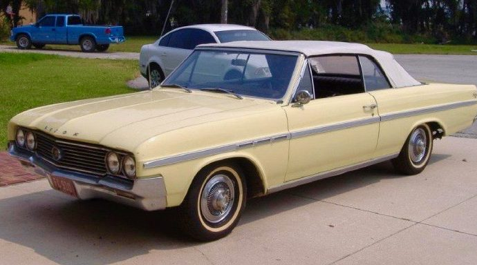 My Classic Car: Derek and Dad's 1964 Buick Skylark convertible