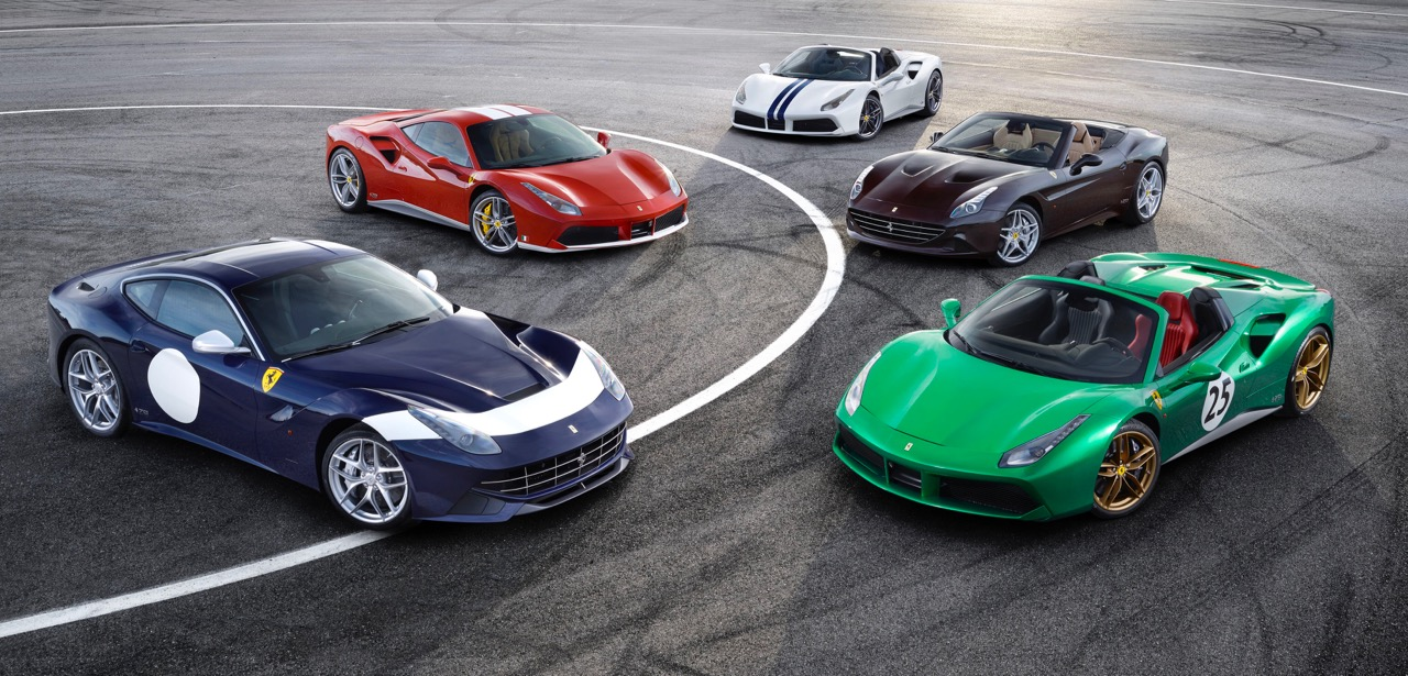 Ferrari starts 70th anniversary celebration by unveiling five of the heritage liveries | Ferrari photos