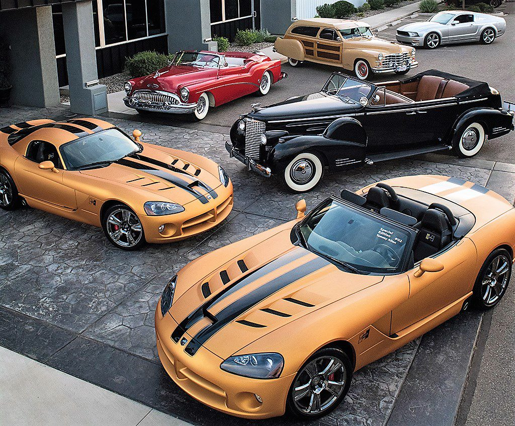 Eighty-two cars from the Tammy Allen collection will be offered by Barrett-Jackson in Las Vegas | Barrett-Jackson photos