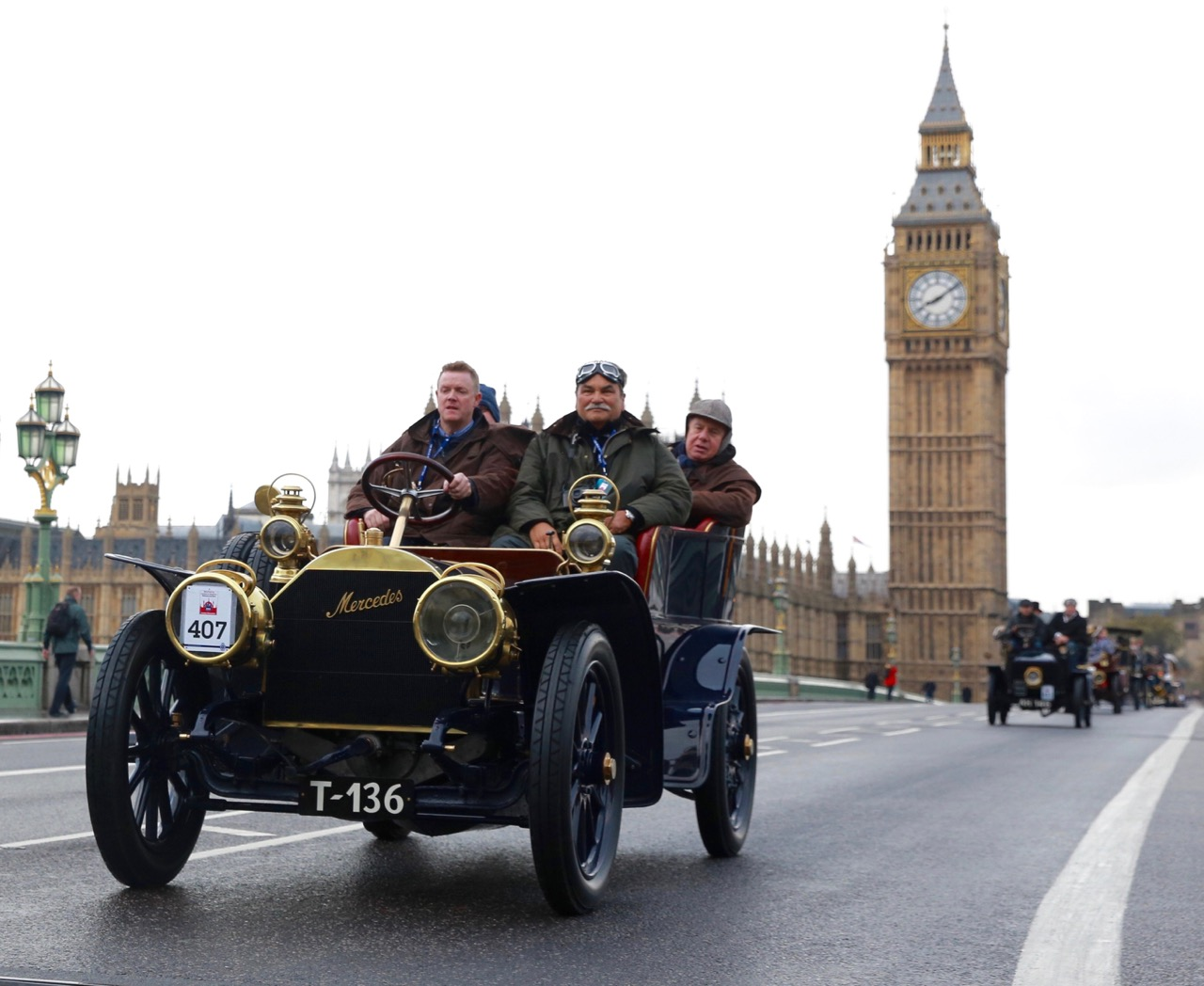 1904 Mercedes is a London to Brighton veteran | RAC photo