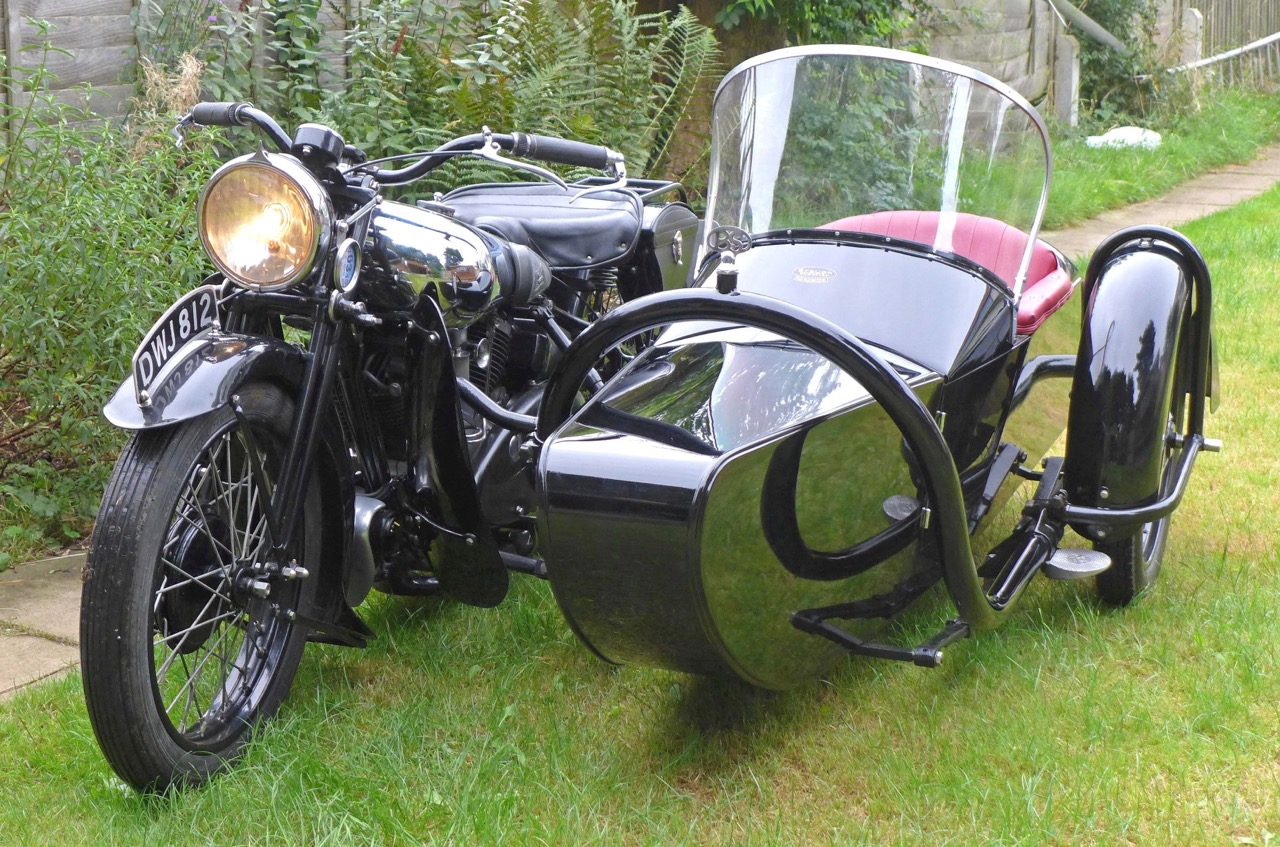 Former Sheffield police bike and sidecar brought $104,623