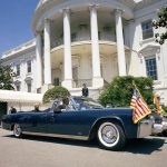 President Kennedy was riding in a 1961 Lincoln Continental when he was assasinated | Photos courtesy of LeMay - America's Car Museum