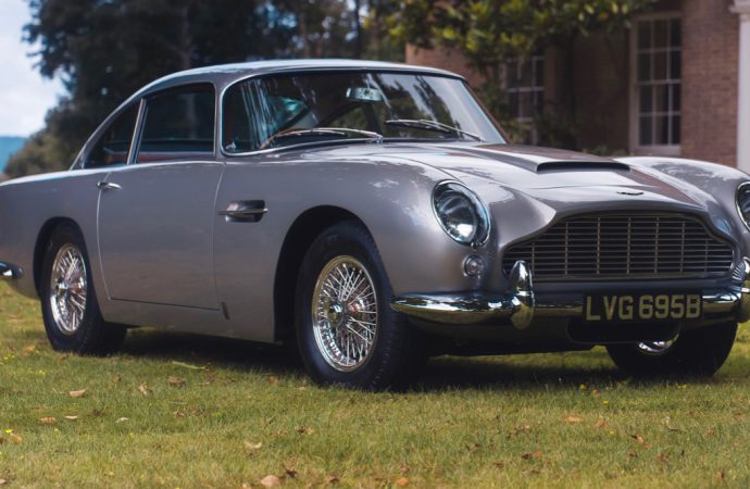 Coys claims '64 DB5 is first social media sale, largest by an app