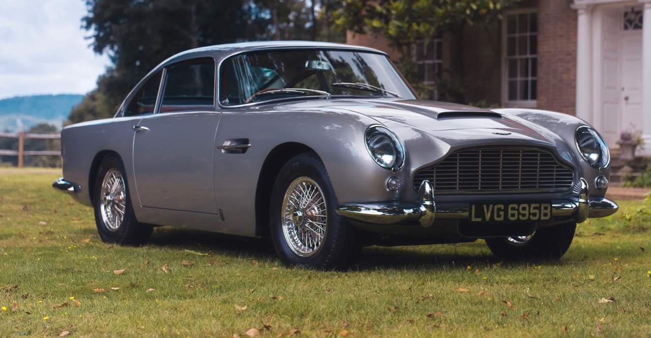 1964 Aston Martin DB5 bought for $1 million via Vero app | Coys photos