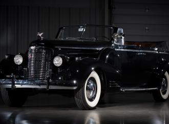 Countdown to Barrett-Jackson Las Vegas 2016: 1938 Cadillac Series 90 V16 convertible