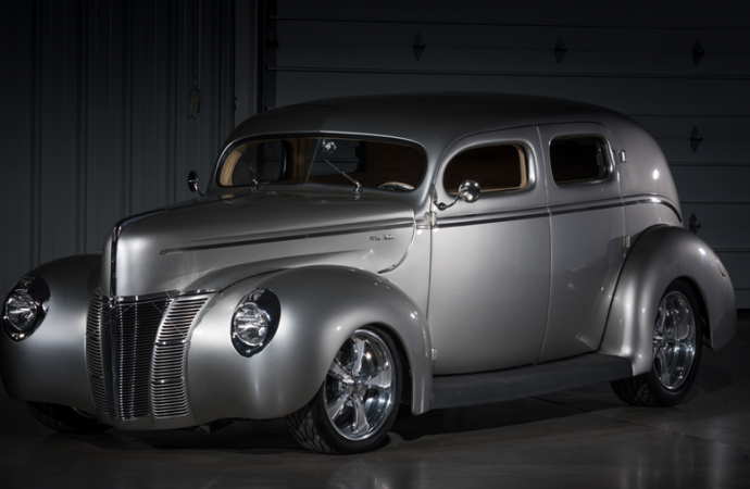 Countdown to Barrett-Jackson Las Vegas 2016: 1940 Ford Deluxe custom sedan