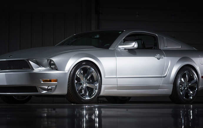 Countdown to Barrett-Jackson Las Vegas 2016: 2009 Ford Mustang 45th Iacocca Anniversary Edition