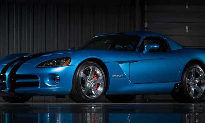 Countdown to Barrett-Jackson Las Vegas 2016: 2008 Dodge Viper SRT/10